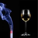 Eher mit alkohol aufhoren oder rauchen